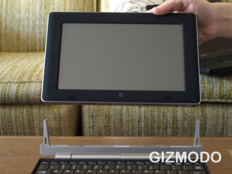 Always Innovating Touch Book: keyboard-docking netslate