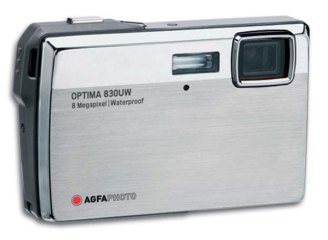 AgfaPhoto OPTIMA 830UW: water, frost & shock-proof
