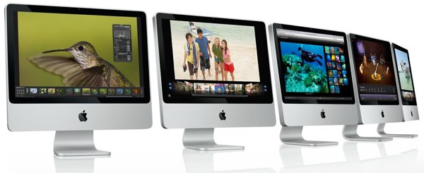 New Apple iMac 20-inch and 24-inch announced