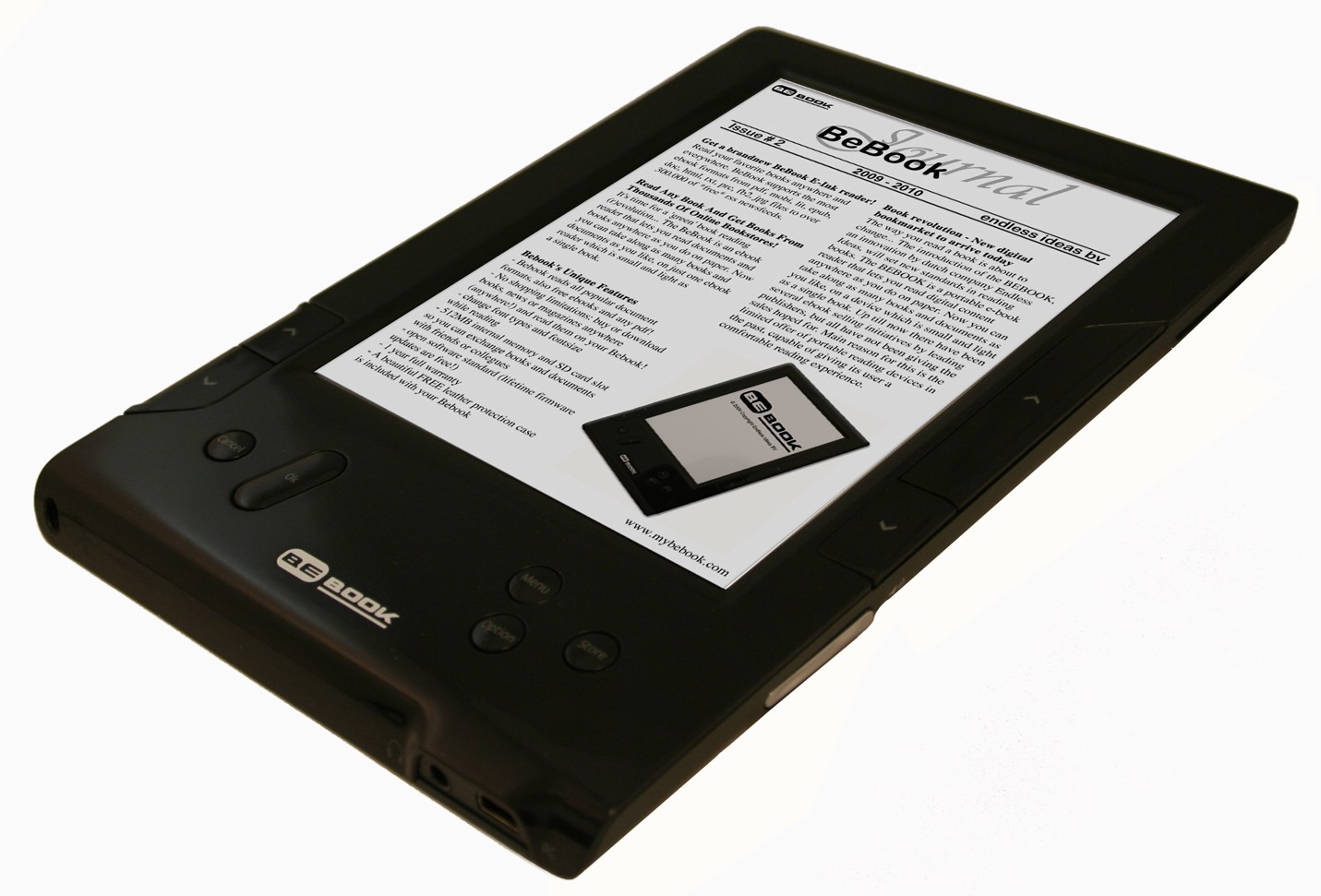 BeBook 2 announced: wireless, touchscreen & easier controls