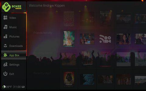 Boxee update: Hulu RSS, auto-update & app store