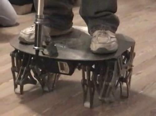 Cajun Crawler: Segway concept gets legs