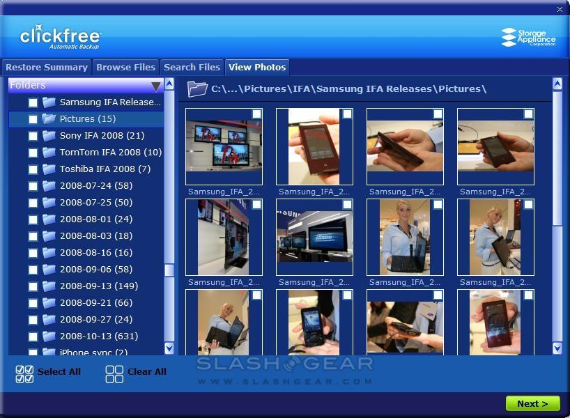 Clickfree HD325 & Transformer Backup Review - SlashGear