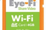 Eye-Fi 4GB cards upload video; new iPhone app released