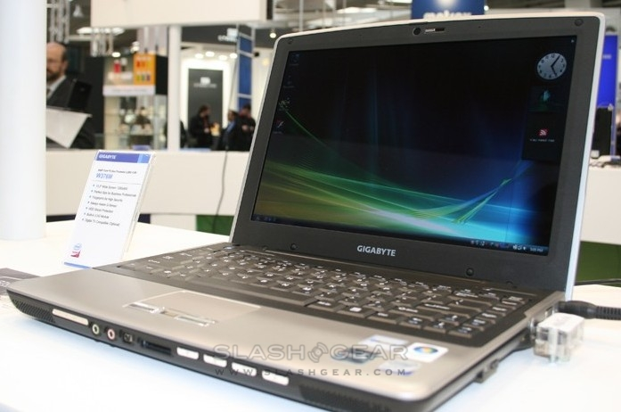 Gigabyte W376M 13.3-inch with HSDPA & TV