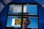 Intel Multi-Client Display Linking for an impromptu big-screen