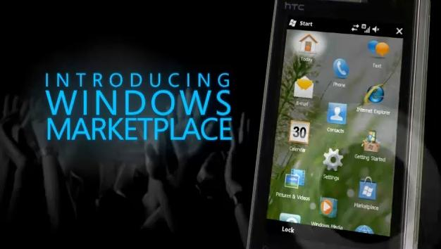 Windows Marketplace for Mobile video demo