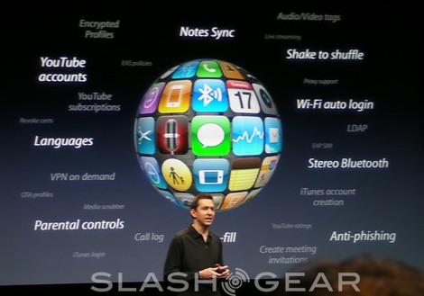 Apple iPhone OS 3.0: copy & paste, Spotlight, A2DP, MMS & more