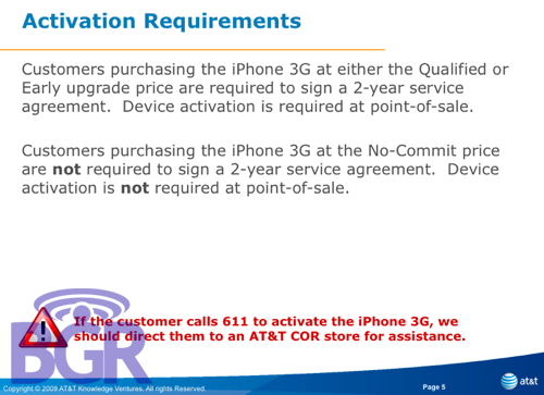 No-contract and No-Activation iPhone 3G coming to AT&T?