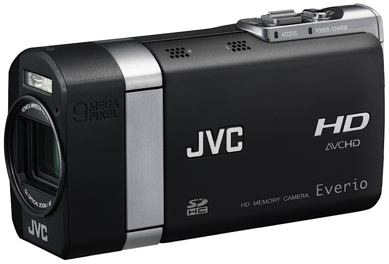 JVC Everio X GZ-X900 shoots 1080p & 9MP images