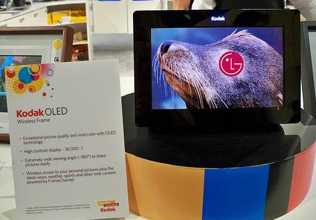 LG pick Kodak OLED tech for future devices