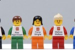 LEGO minifig business cards