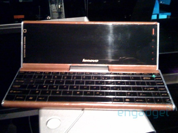 Lenovo leather-clad ultraportable prototype spotted