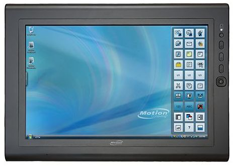 Motion J3400 Rugged Tablet Pc 7 4hrs
