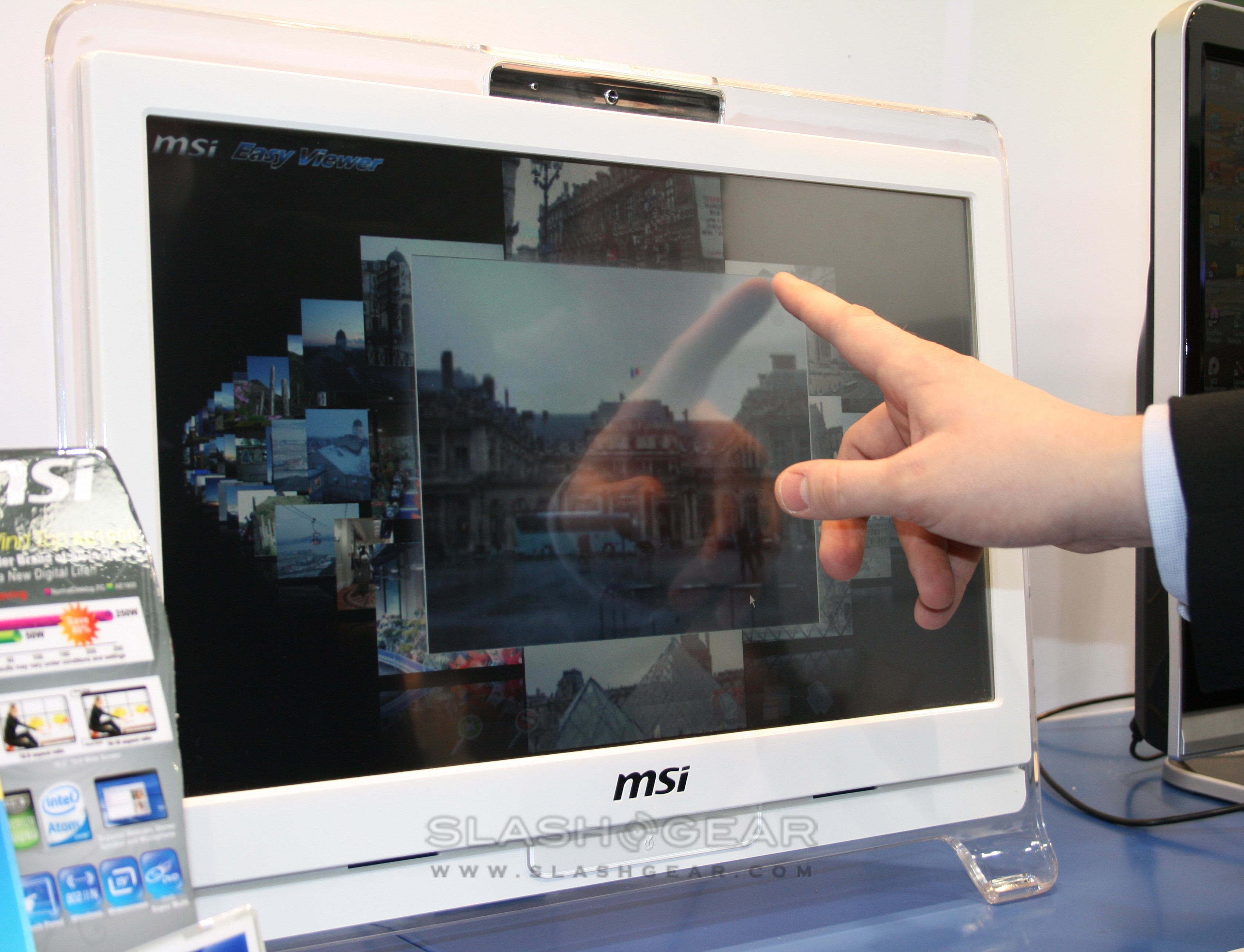 MSI Wind Top AE2010: 20-inch HD playback