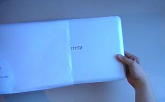 MSI X-Slim X340 Air-esque envelope video