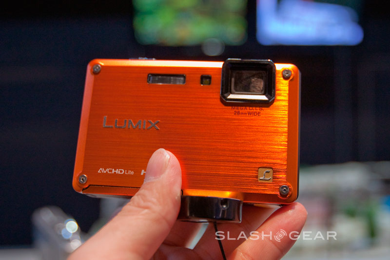 PMA 2009 : Panasonic Tough DMC-TS1 Lumix Hands-on – Rugged compact camera