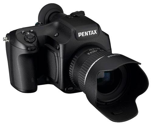 Pentax shows off 645 Digital; updates K20D, K2000