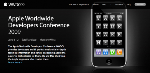 Apple WWDC 2009 keynote to be Schiller, not Jobs