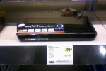 Samsung Blu-ray player BD-P 3600 show up in store