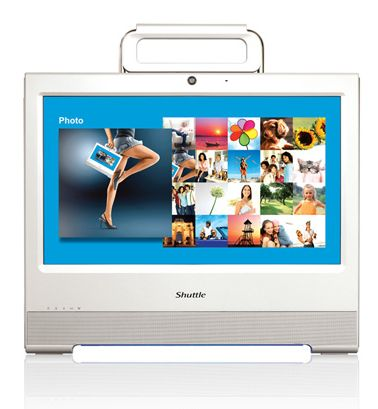 Shuttle X50 touchscreen Atom 330 nettop gets official
