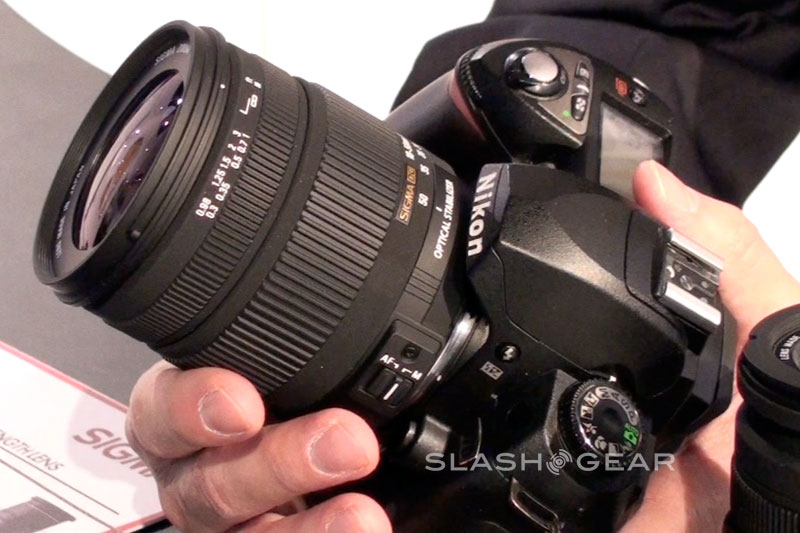 PMA 2009 : Sigma talks new zoom lenses
