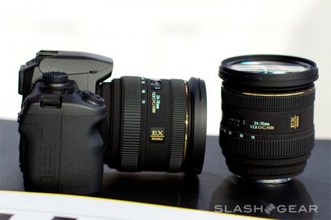 Sigma 24-70mm F2.8 IF EX DG HSM –- Sony Alpha Mount —  gets date