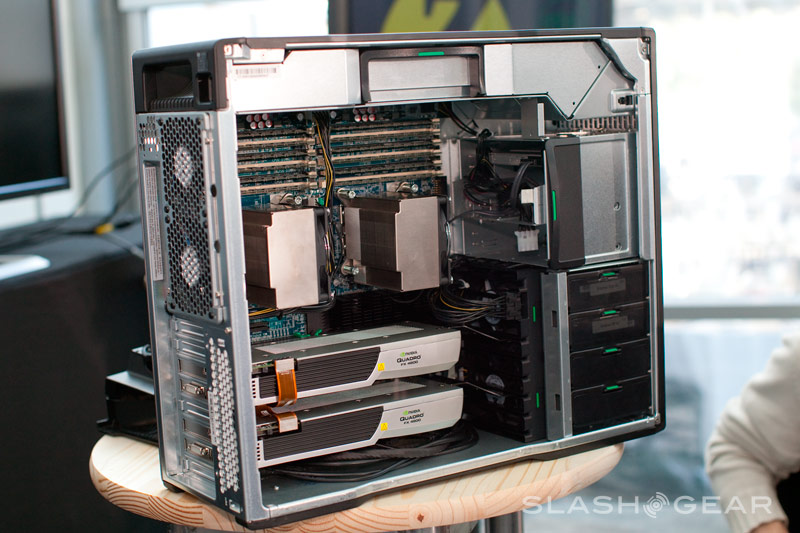HP Z Workstation Series: SlashGear Exclusive Launch Coverage - SlashGear
