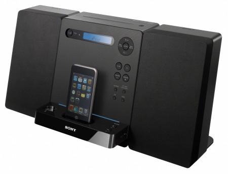 Sony CMT-LX30iR: iPod dock, USB & easy CD rips