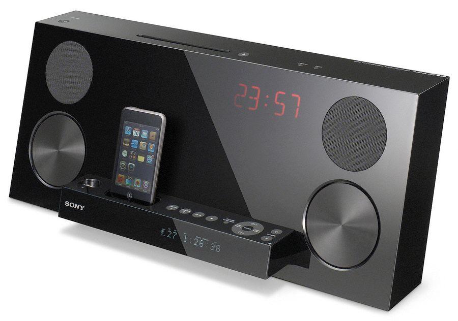 Sony CMT-Z100iR iPod & CD speaker system leaks
