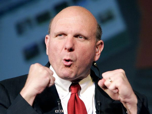 "Ballmer critiques Apple: ""$500 more to get a logo"""