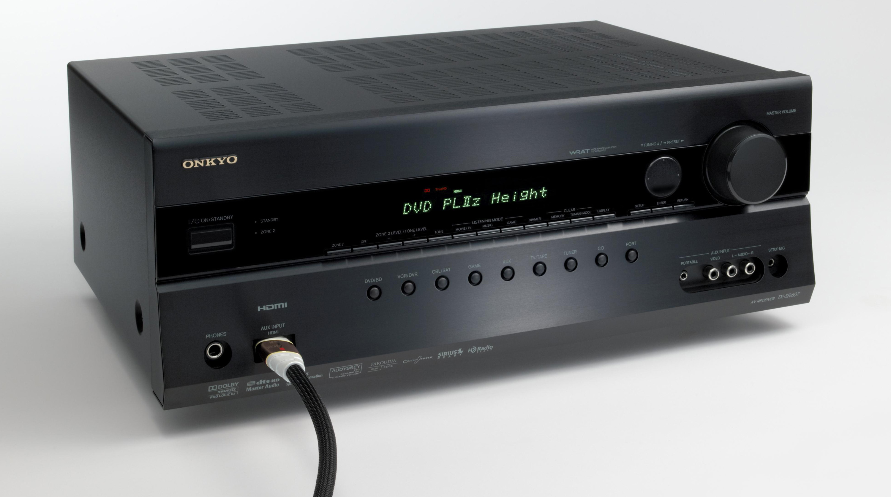 Onkyo intros TX-SR607, world's first AV Receiver with Dobly ProLogic IIz