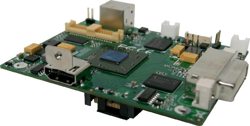 VIA P710-HD graphics module for Pico-ITXe board