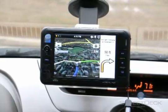 Viliv S5 MID gets StreetDeck PND video demo