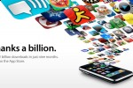 1 Billion downloads from Apple App Store