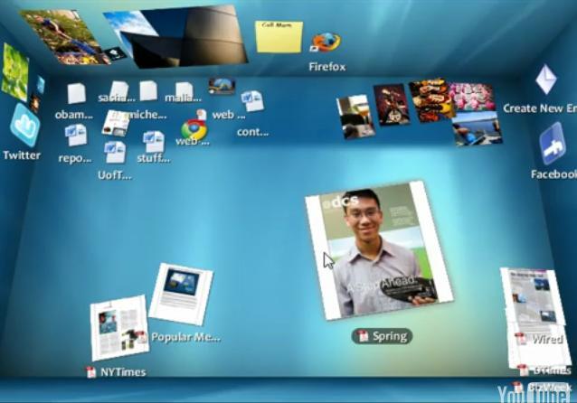 BumpTop 3D desktop launches: Video demo