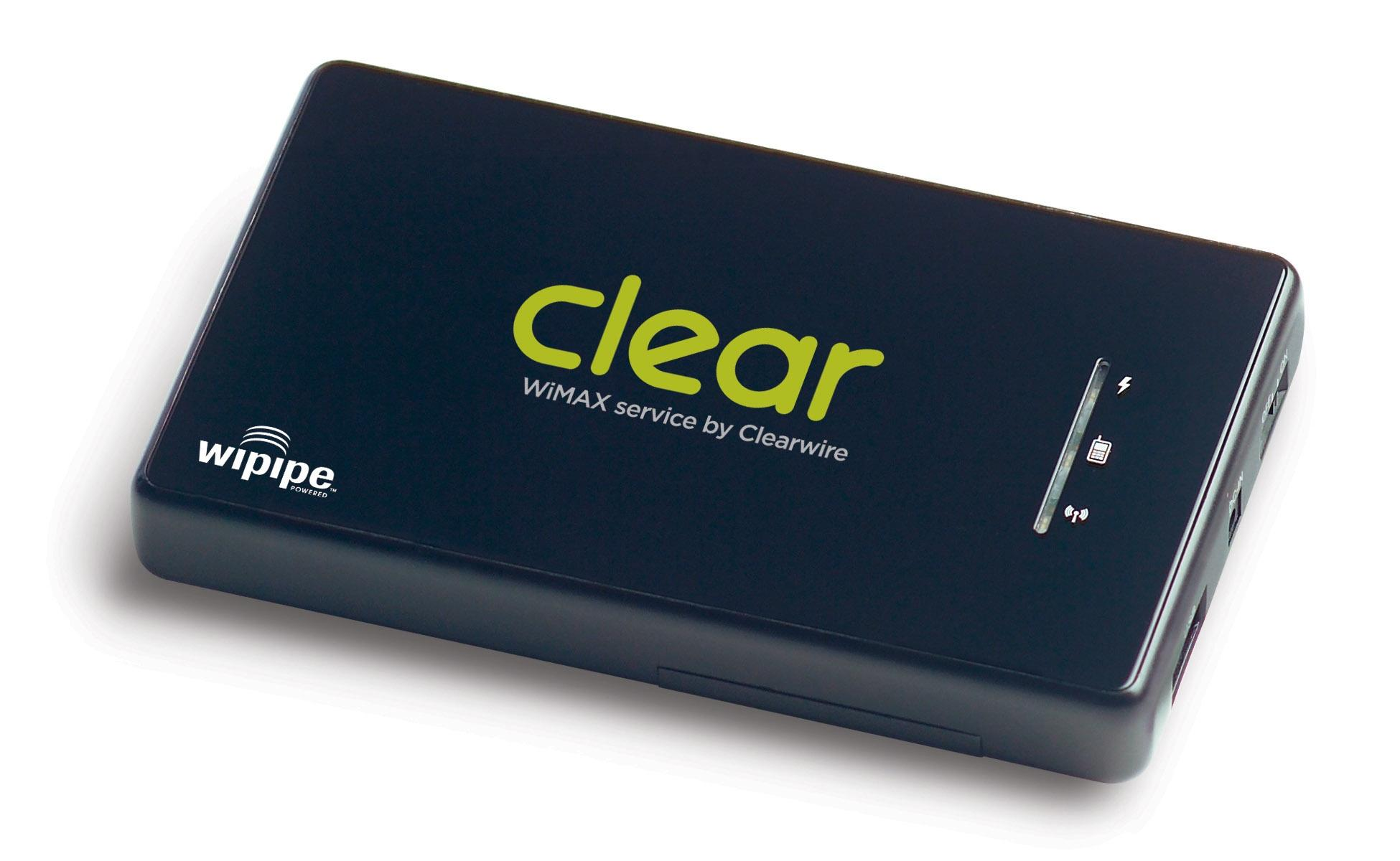 Clearwire CLEAR Spot portable WiMAX router