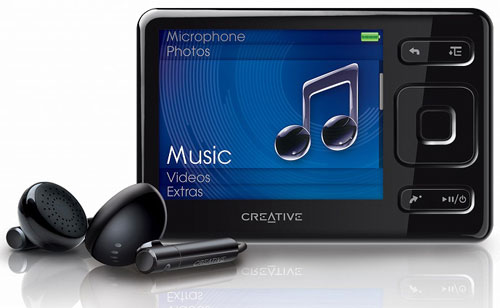 Creative ZEN MX audio player introduced