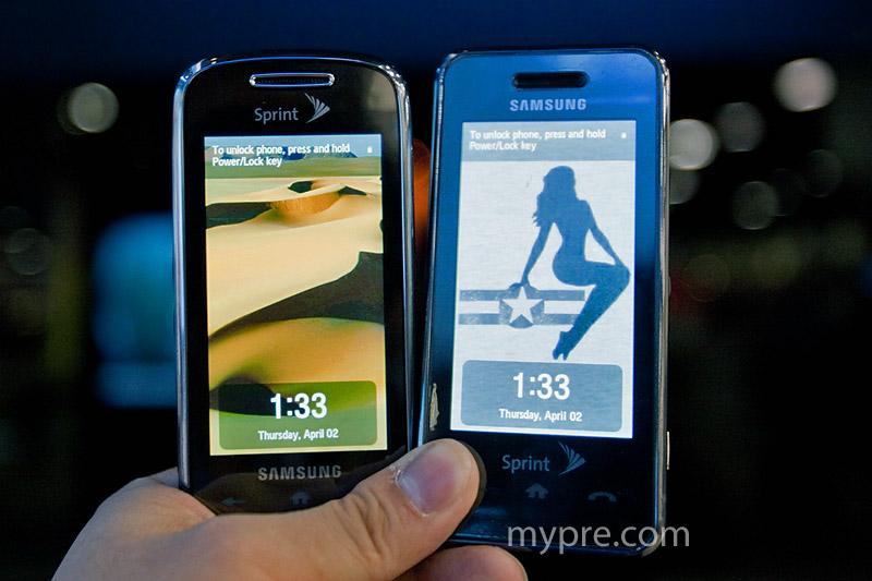 Samsung's Instinct S30 hands-on