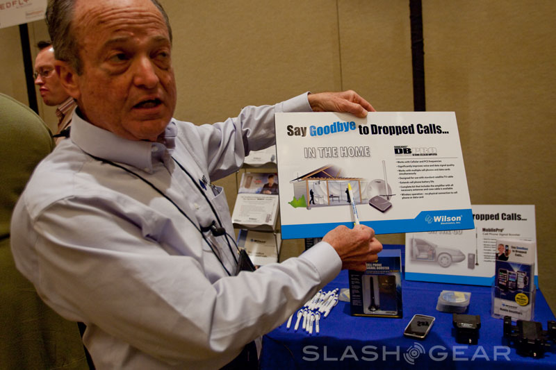 Wilson Electronics' Cell Signal Boosters-SlashGear's Top 5 Products at Show Stoppers