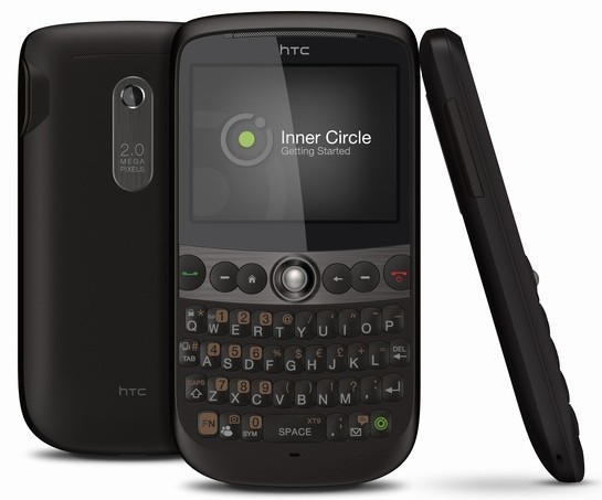HTC Snap announced: QWERTY, HSDPA, WiFi