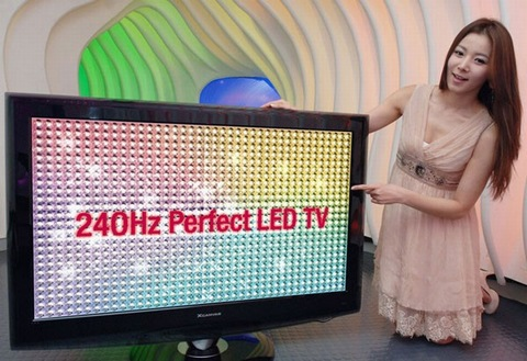LG LH90 240Hz LED-backlit HDTVs get priced
