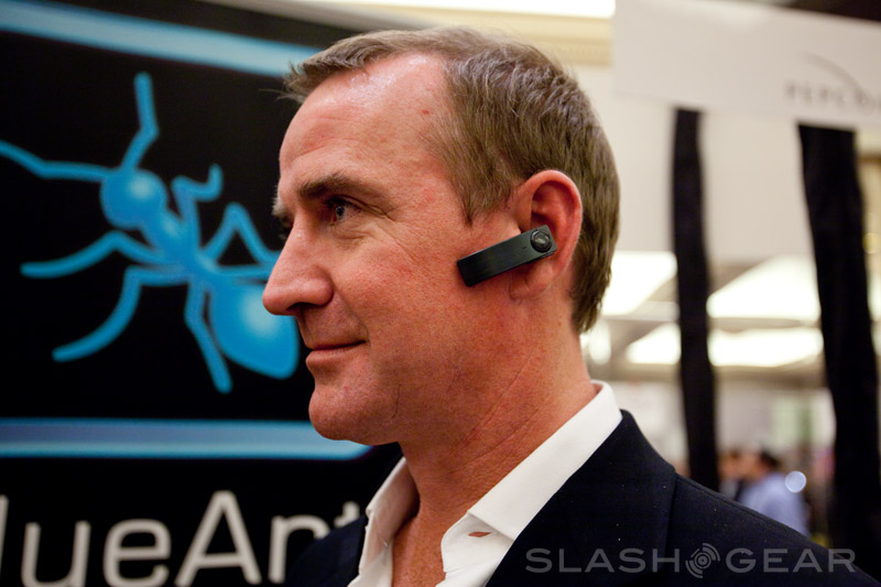 BlueAnt's Q1 Bluetooth Headset