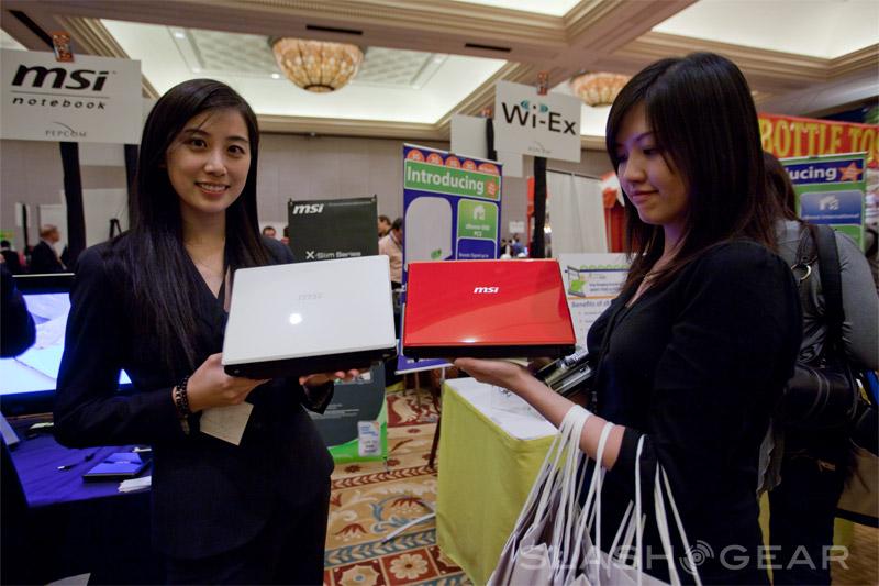 MSI Wind U123, X-Slim X320 & X340 video demo