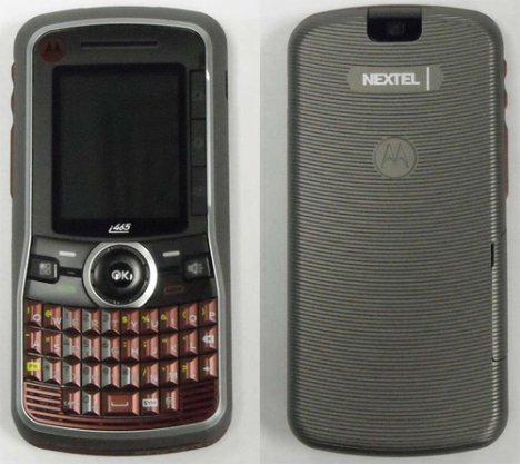 Motorola i465 on Nextel with full QWERTY