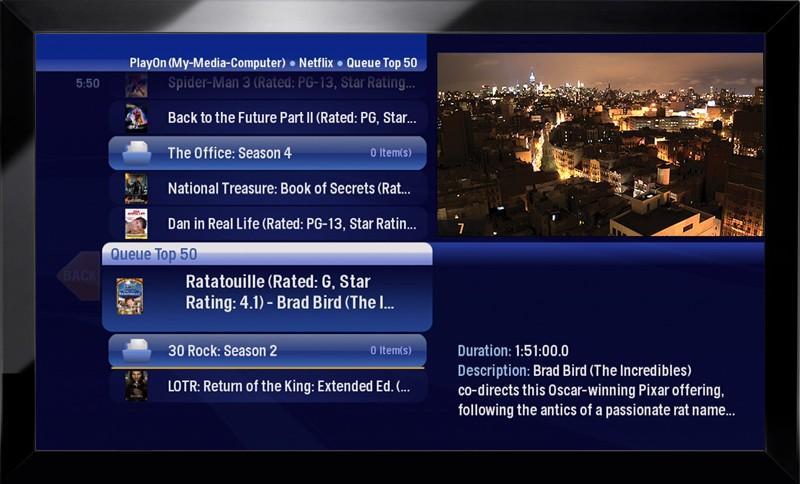 Moxi HD DVR update: Hulu & Netflix, DLNA, home automation