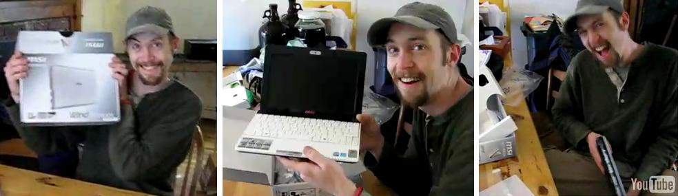 MSI Wind unboxing video: True gadget lust