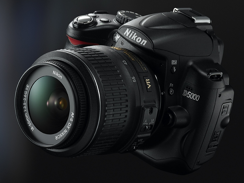 Nikon 12.3MP D5000 Digital SLR gets official