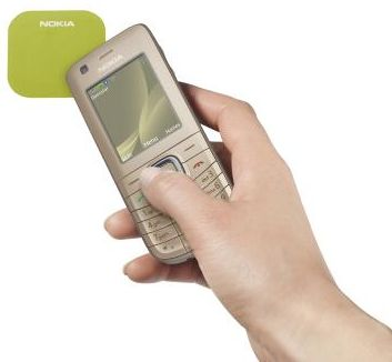 Nokia 6216 classic with NFC for contactless payments