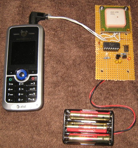 Open GPS Tracker based on cheap prepaid phone
